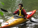 bibi mcgill,kayaking