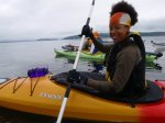 bibi mcgill,kayaking puget sound