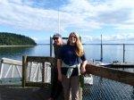 april obern,rod richards,joemma beach campground,puget sound kayaking