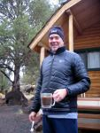 rod richards,cabins at lake billy chinook,cove pallisades state park