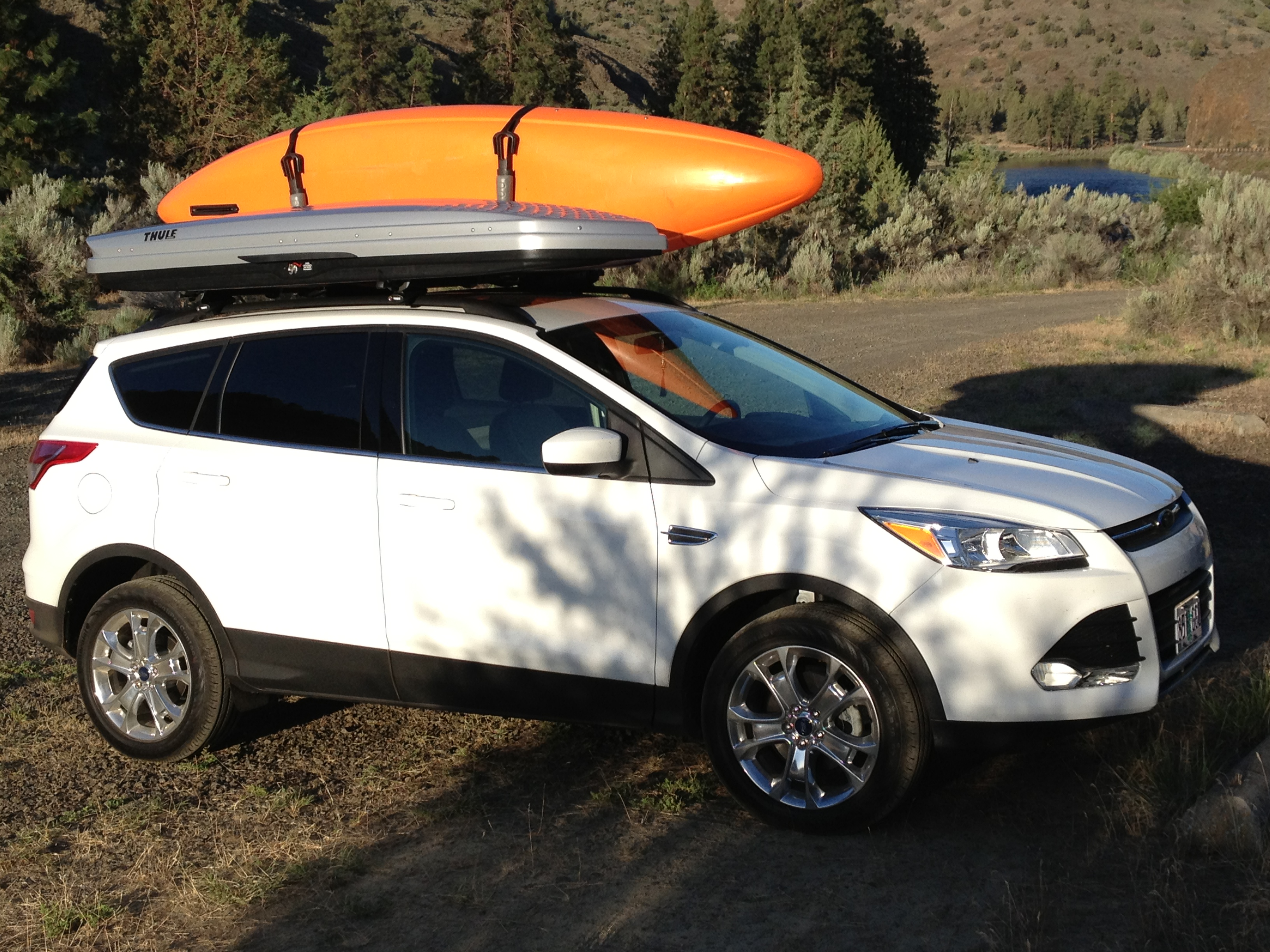 We Packed Up My New  Ford Escape With Jackson Kayaks Rogue  And Rogue  Kayaks These Kayaks Are Perfect For This Trip Because They Are Good For The