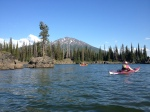 sparks lake oregon,paddling oregon,kayaking oregon,camping oregon
