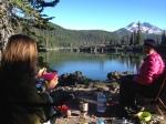 sparks lake oregon, camping, kayaking oregon