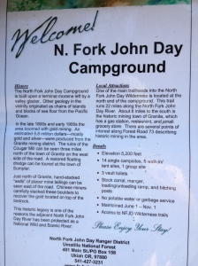 NF John Day Sign