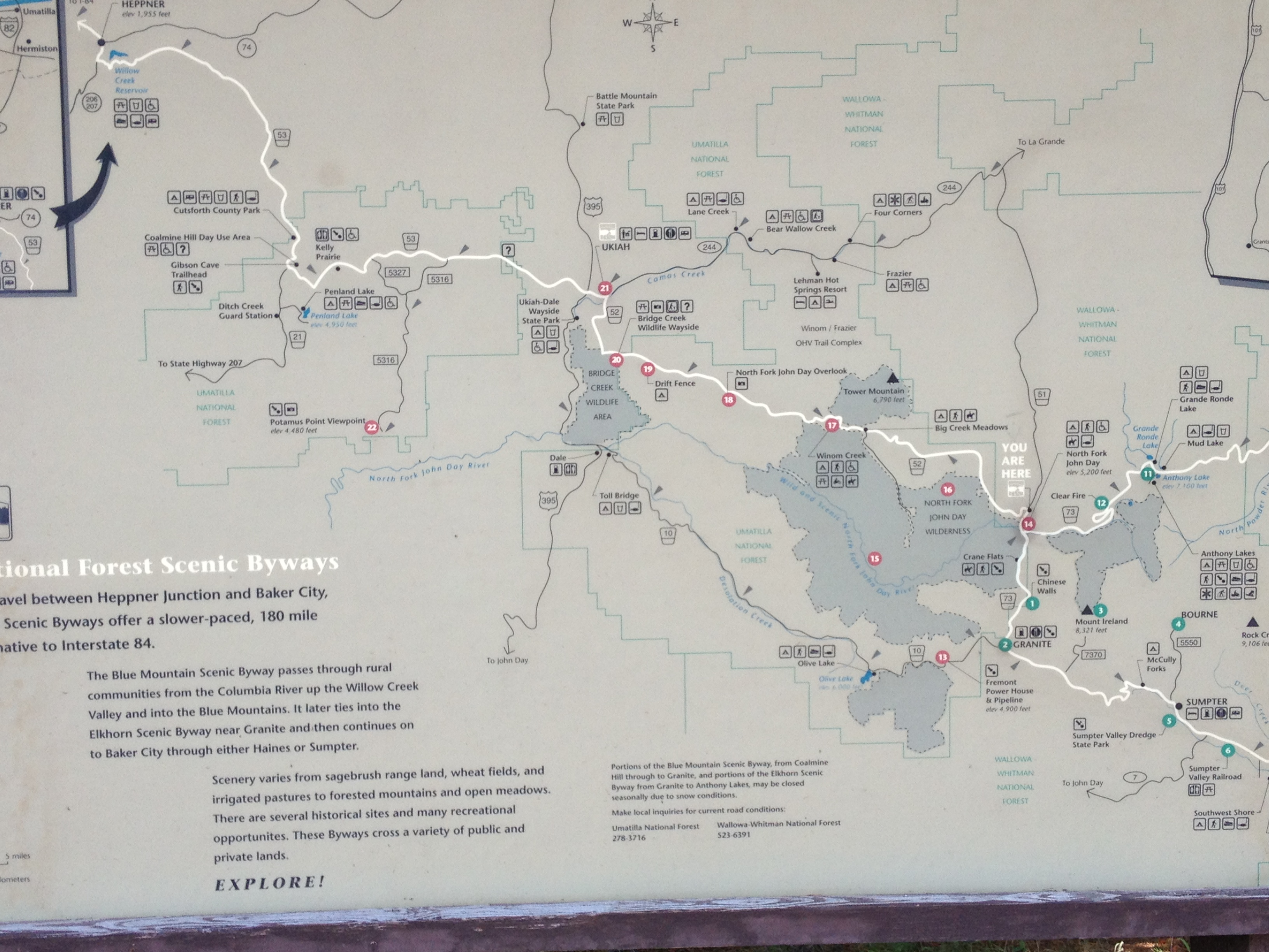 Gold In Oregon Map.Oregon S Gold Rush Region Sumpter Oregon And Granite Oregon