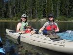 waldo lake,waldo lake oregon,kayaking oregon