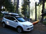 North Waldo Campground,waldo lake,camping oregon