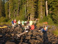 north waldo campground,waldo lake,camping,hiking,oregon,kayaking,canoeing
