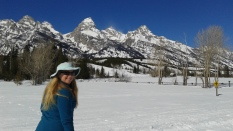 jenny lake trail,cross country skiing,grand teton national park