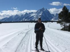 cross country skiing,grand teton national park