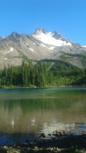 scout lake,jefferson park,mt jefferson,backpacking oregon