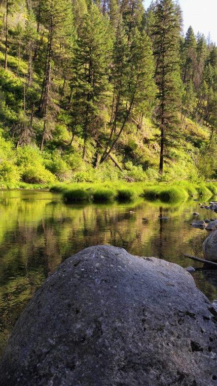 River Evening Peaceful
