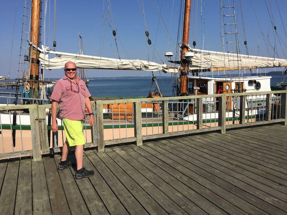 Rod at dock