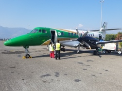 This was our plane