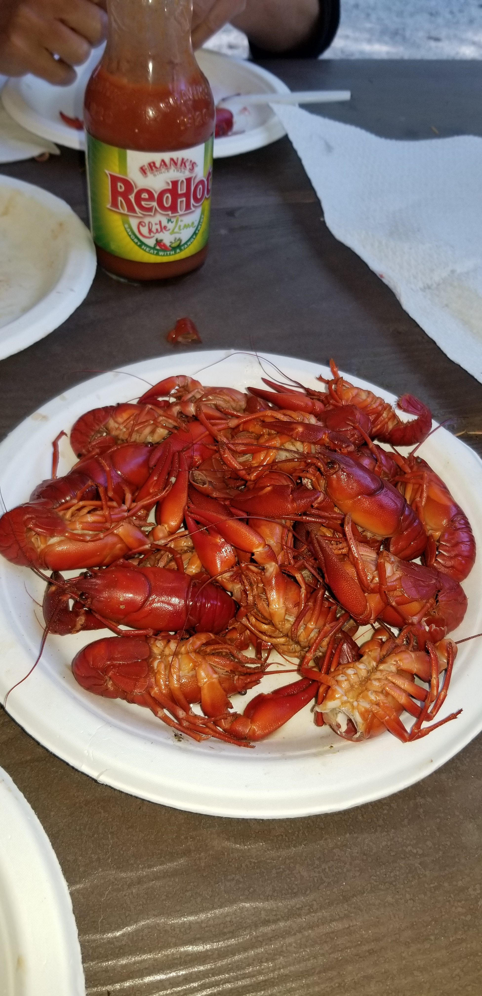 Crawdads Cooked and ready