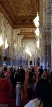 Hassan 2 Mosque Inside