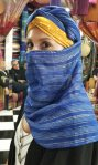 Katie at the Textileshop