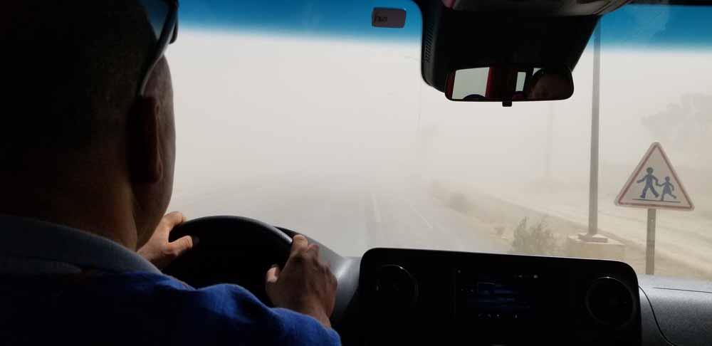 morocco, sahara sandstorm