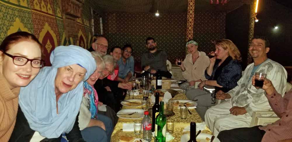 Group Dinner Sahara resized